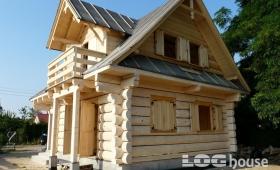 Naturalne domy z bali