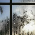 Para wodna skraplająca się na oknie