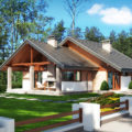 Projekt domu Maja z katalogu Tooba.pl