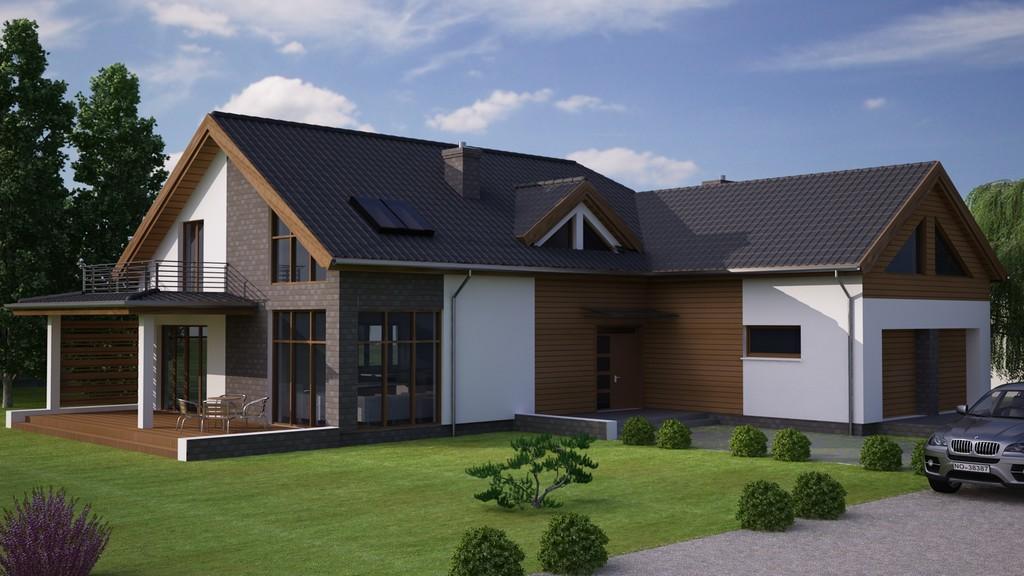 Projekt domu Parma 2