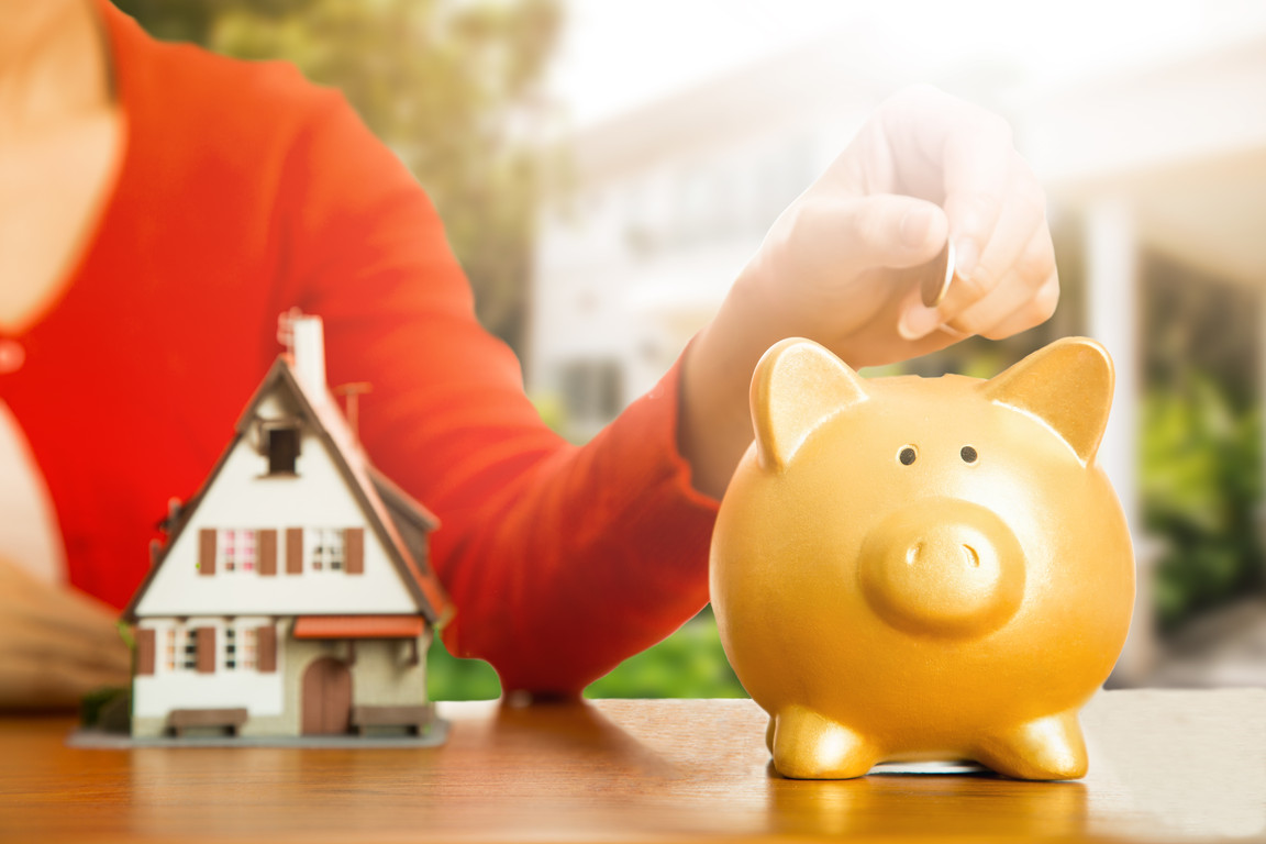 Zbieranie oszczędności do skarbonki