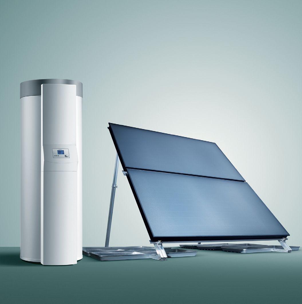Pompa ciepła z panelem słonecznym
