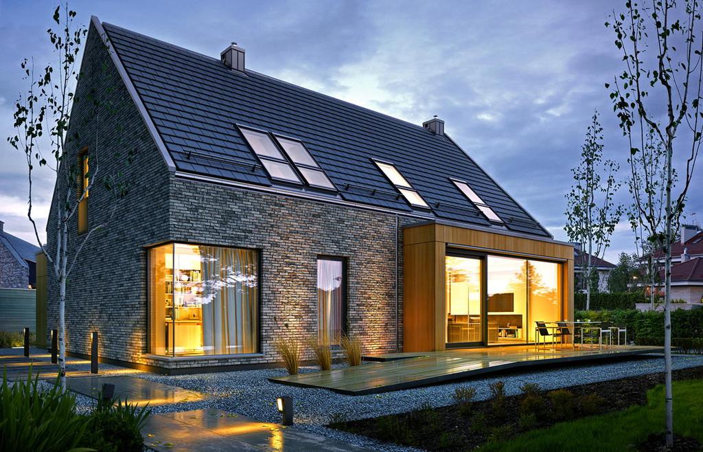 Projekt domu Atrakcyjny 1