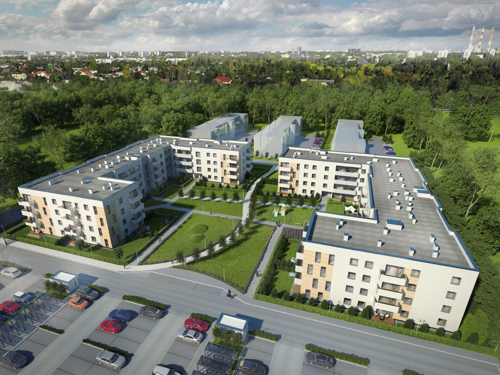 Zakup mieszkania w Łodzi - Lawendowe Osiedle