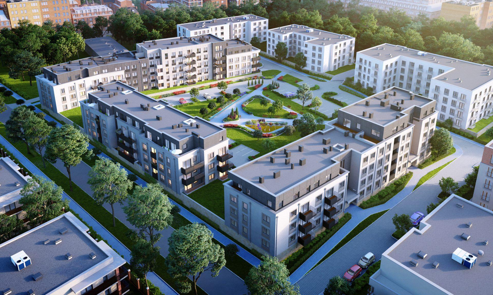 Zakup mieszkania w Łodzi - Barciński Park