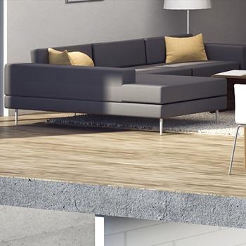Podłoga betonowa w mieszkaniu