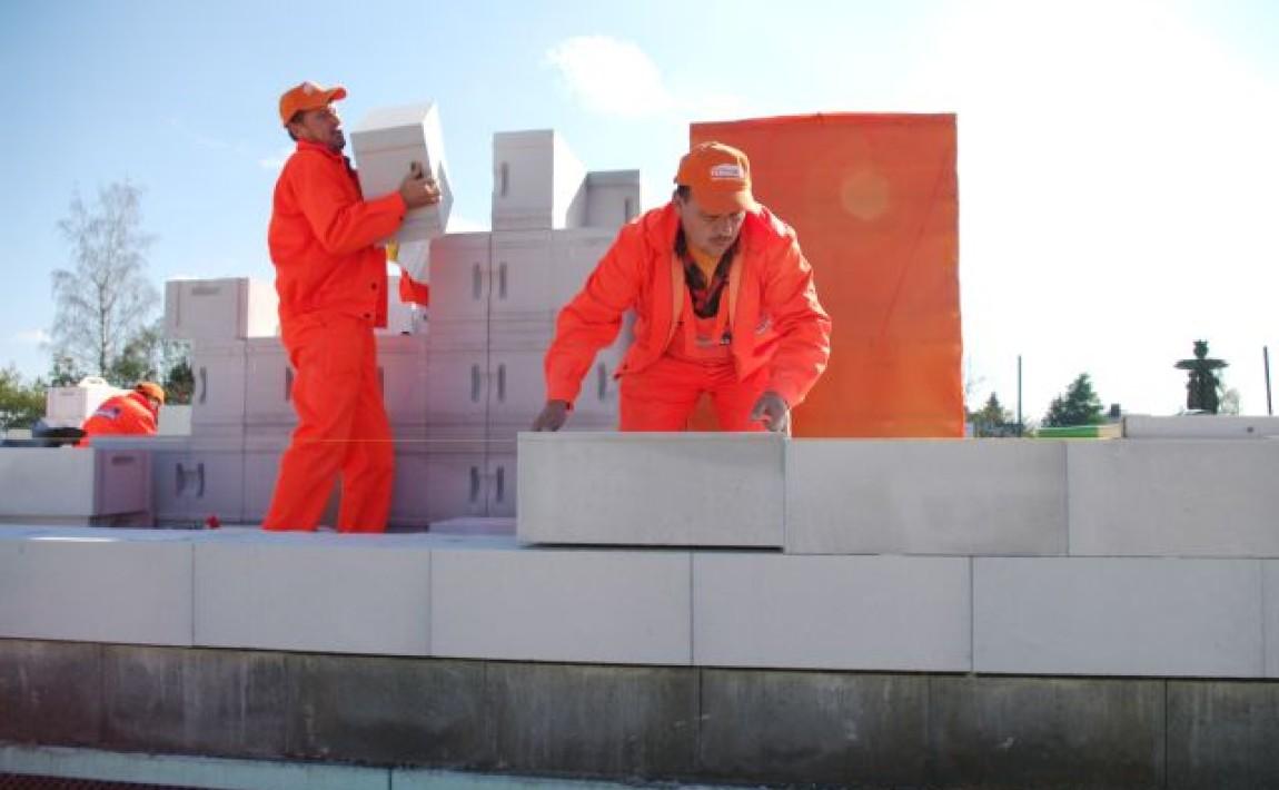 budowa zwykorzystaniem betonu komórkowego