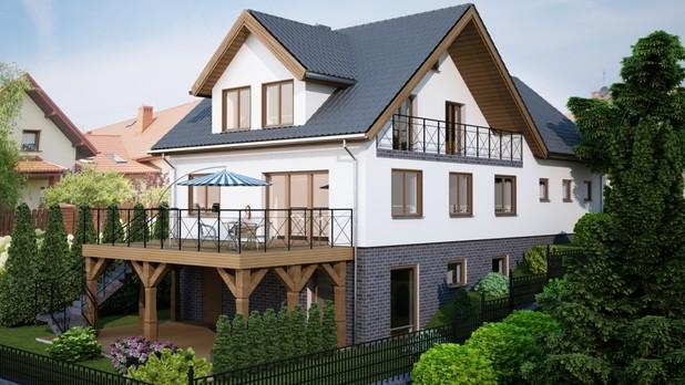 Projekt domu Acri z oferty Tooba.pl