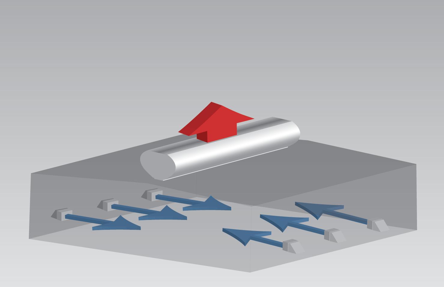 Mechanizm wentylacji grawitacyjnej