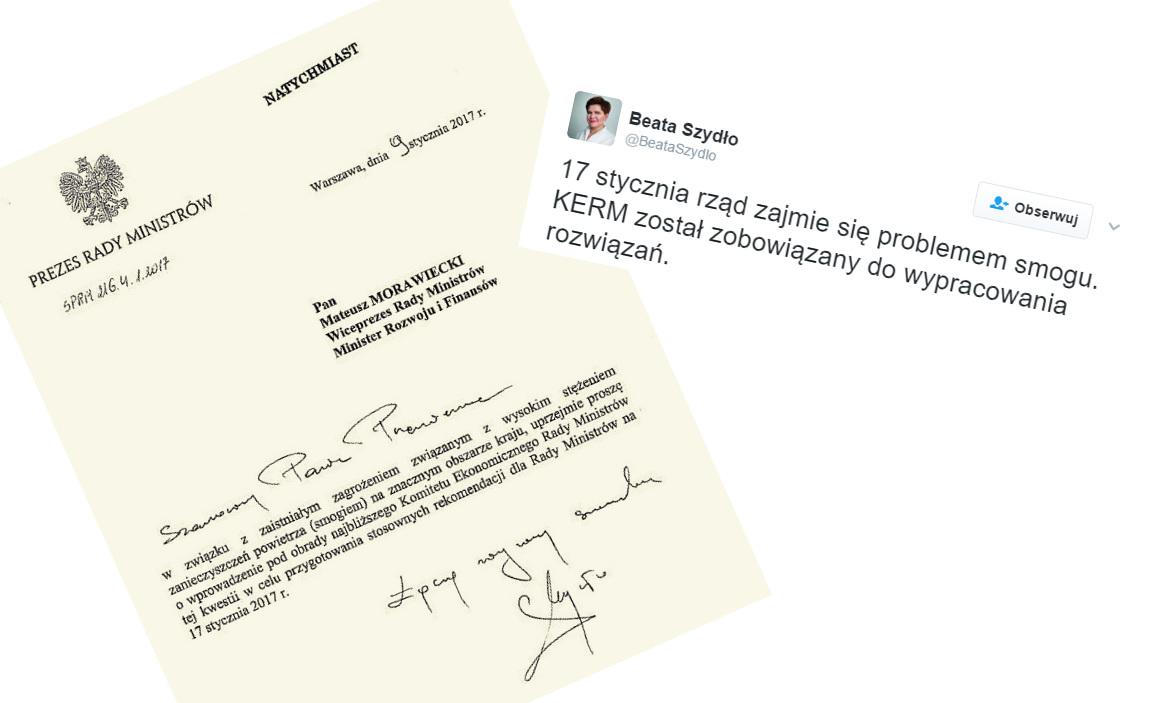 Dokument potwierdzający sprawy poruszane podczas posiedzenia