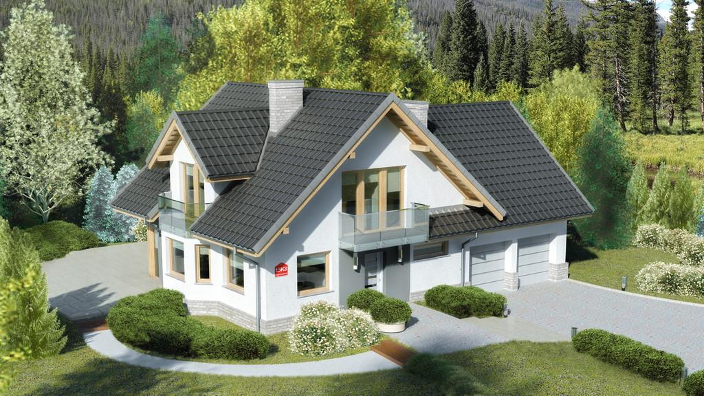 Projekt domu Dom przy Cyprysowej