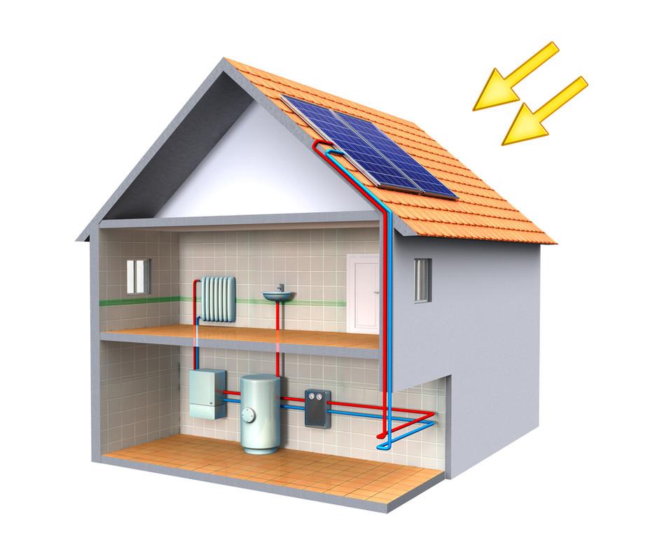 Działanie paneli słonecznych