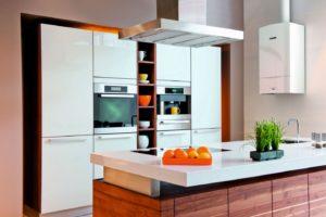 Kocioł kondensacyjny w kuchni