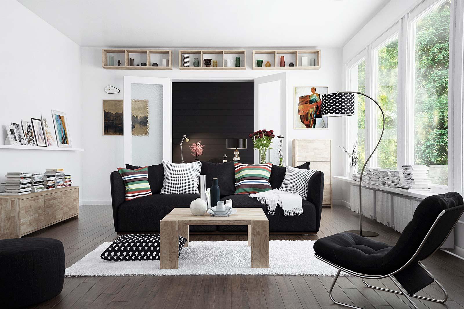 Salon z kolekcji James