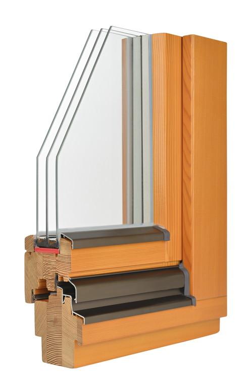 Struktura okna drewnianego
