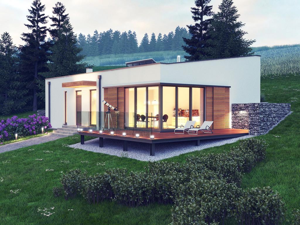 Projekt domu Otulony