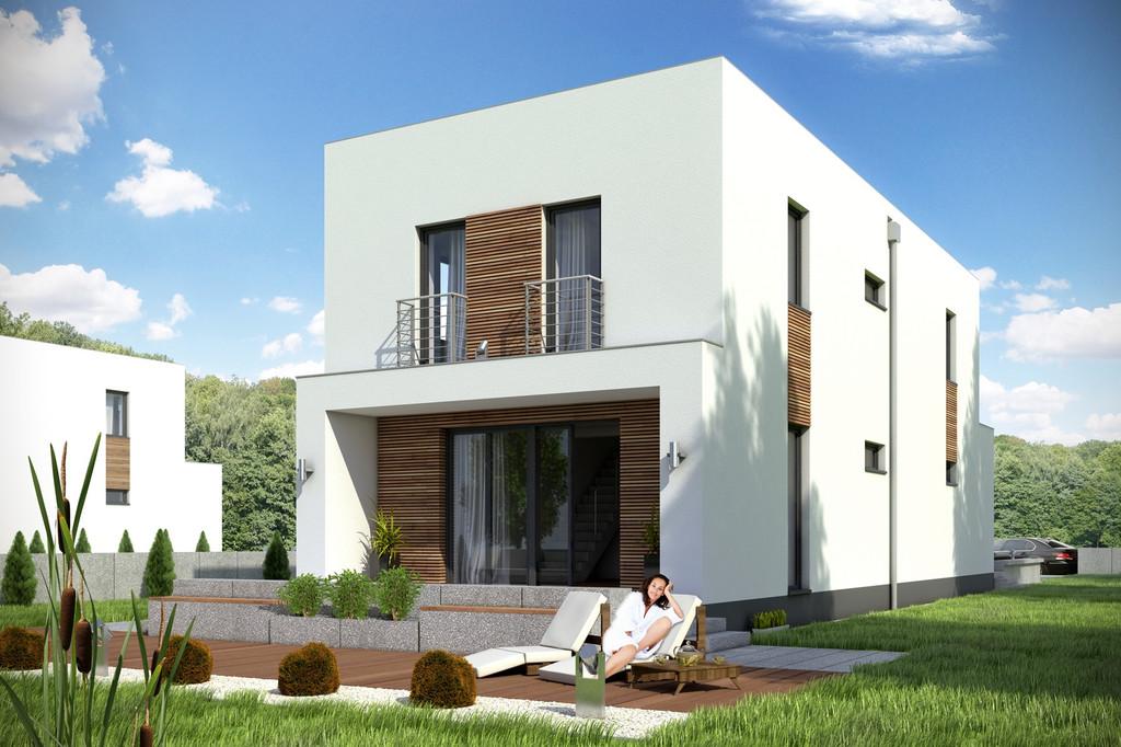Projekt domu Eco 4 z garażem 1-st. A