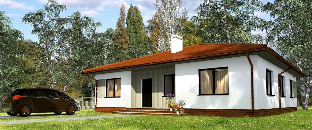 Projekt domu Klara Drewniany Termo