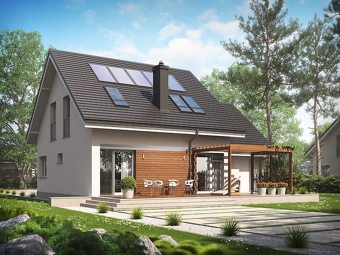 Projekt domu Leosia G1 Energo